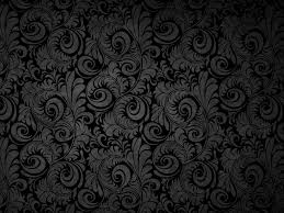 Black Pattern Background Simple Black Flower Background Pattern Imageweb