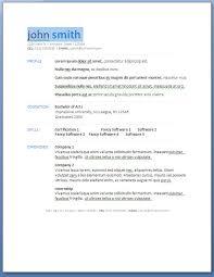 Choosing New Resume Template Microsoft Word 94xrocks