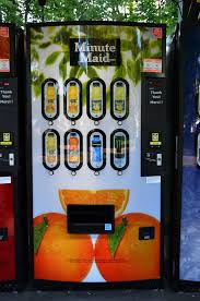 Minute Maid Vending Machine Enchanting MinuteMaid Vending Machine Brian G Kennedy Flickr