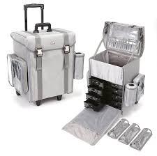 seya professional rolling makeup case