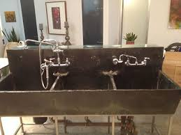 vintage triple basin soapstone sink ebay mudrooms pinterest