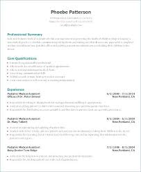 Entry Level Resume Examples – Lespa