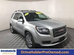Used 2017 Gmc Acadia Limited Awd Limited In Quicksilver Metallic For Sale In Shelbyville Indiana H7143