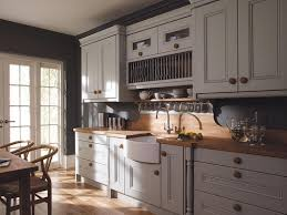 image of gray cabinets what color walls country