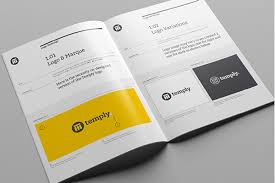 Manual Design Templates Best 44 Great Beautiful Brand Book Templates To Present Your Branding