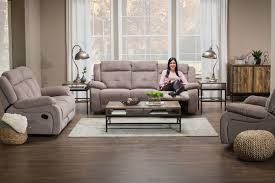 sofa loveseat tables lamps rug
