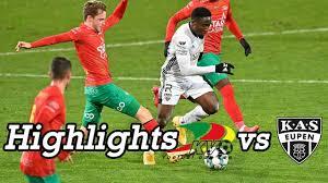 Highlights matchday 17// KV Oostende vs. KAS Eupen 1:1 - YouTube