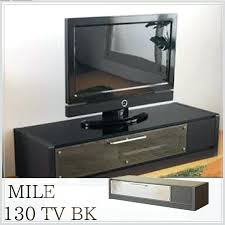 modern glass tv stands miles board bk black snack stand to