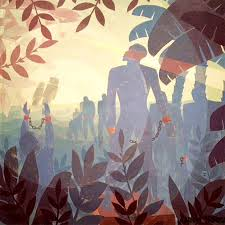 into 1936 by aaron douglas from color line a movement in renaissance artistsharlem