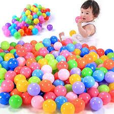 <b>100 pcs</b>/lot <b>Eco Friendly</b> Colorful Ball Soft <b>Plastic</b> Ocean Ball Funny ...