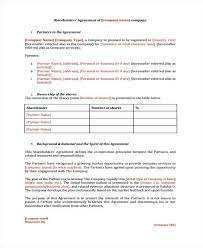 Related Post Shareholder Contract Template Agreement Free Download ...