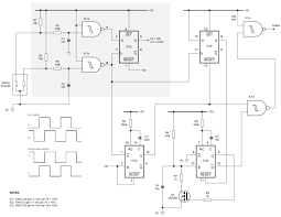 adaptive rotary encoder distinguishes fine from coarse edn figure 1 adaptive interface circuit responds to rapid rotation of the encoder and increases the output pulse rate accordingly
