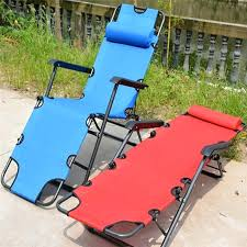 pvc folding beach chair folding reclining outdoor deck camping sun lounger beach chair bed office napping chairs easy carry from plastic folding beach