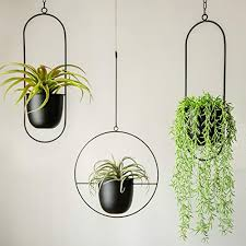 flower pot set wall mounted square