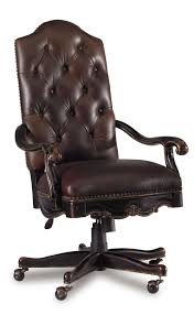 leather antique wood office chair leather antique. Furniture:Antique Dark Brown Comfortable Laminated Leather Tufted Office Chair With Black Painted Wood Base Antique S