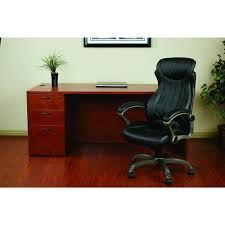 eco office chair. Work Smart Black Eco Leather Executive Manager Office Chair