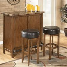 small home bars furniture. Small Home Bar Furniture | Theo Contemporary Unit With Faux Marble Top Bars