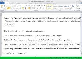 rational equation solver with steps free tessshlo