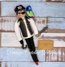 Dream Catcher Dolls ITH Small DollElf Pirate Holiday Bundle Embroidery Design 100 87