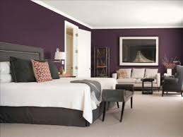 Purple Bedroom Colors Purple And Grey Bedroom