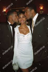 Berry Davidson Phillips Actress Halle Berry center Editorial Stock ...