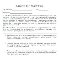 Sample Annual Performance Review Annual Employee Review Forms Performance Appraisal Examples Sample