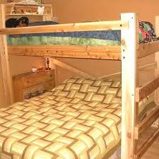twin loft bed plans stunning over queen bunk with op diy