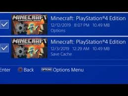 minecraft ps4 possible login failed bug