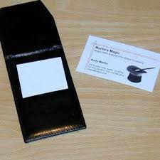 Business Card Scanner By El Ducos Magic Martins Magic Collection