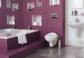 Mesmerizing Purple Bathroom Designs