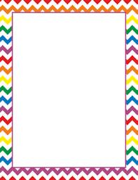 Rainbow Page Borders
