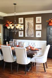 kitchen table with food. Fall Dining Room Table Decor And Inspiration Kitchen With Food
