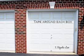 Faux Carriage Garage Doors And Painting On Design Ideas