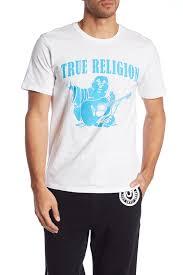 True Religion Neon Buddha Print Crew Neck Tee Nordstrom Rack