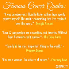 Zodiac Quotes 83 Amazing Quotes About Cancer Horoscope 24 Quotes