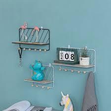wall mounted shelf wire rack storage