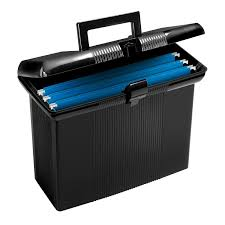 office file boxes. Amazon.com : Pendaflex Portable File Box, Black, 11\ Office File Boxes
