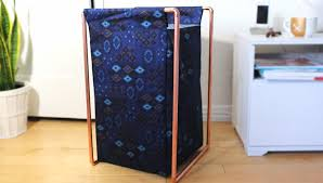 diy copper pipe laundry hamper