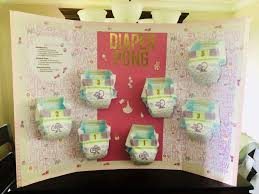 how to play baby shower diaper pong easy diaper pong rules