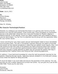 Ultrasound Technician Cover Letter 18 Tech Resume For ...