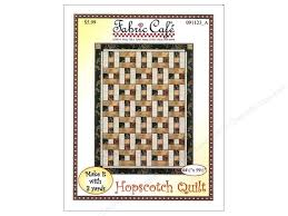 Hopscotch Pattern Delectable Fabric Cafe Hopscotch 48 Yard Quilt Pattern CreateForLess