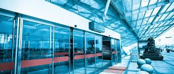 ace glass handles many businesses automatic sliding glass door needs