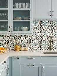 traditional kitchen backsplash tile