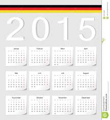 German 2015 Calendar Stock Vector Illustration Of Planner 40475830