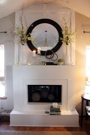 Innovative Ideas For Decorating Above A Fireplace Mantel Best 25 Mantle Ideas  Ideas On Pinterest Brick Fireplace Mantles
