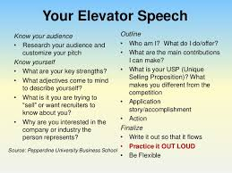 What Is A Elevator Speech Perfect Your Pitch Using An Elevator Speech To Impress
