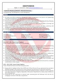 Civil Engineer Resume Sample Civil Engineer Sample Resumes Download Resume Format Templates 57