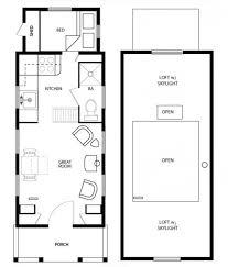 modern tiny house floor plans 2 bedroom with loft on wheels