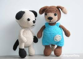 Free Crochet Dog Patterns Awesome Tommy The Dog Crochet Pattern Amigurumi Today
