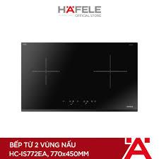 PROMO] Máy Hút Mùi Âm Tủ Hafele HH-TI60D (60cm) + Bếp Từ 2 Vùng Nấu Hafele  770x450mm HC-IS772EA